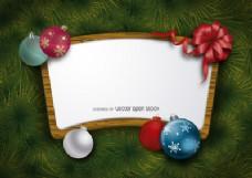 圣诞木制背景架