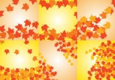 秋天背景矢量