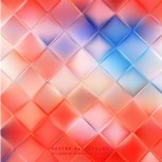 抽象蓝色红场背景设计
