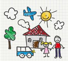 手绘儿童插画