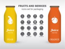 产品包装瓶设计图片