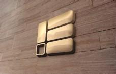 金属Logo