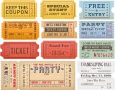 怀旧的门票