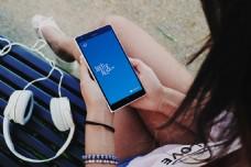 诺基亚Lumia样机