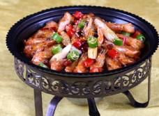 香锅虾 虾图片