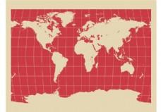 世界地图背景