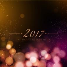 2017新年背景虚化背景