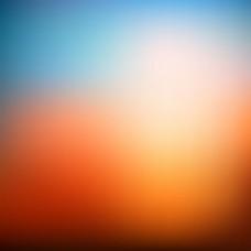 现代橙色模糊背景