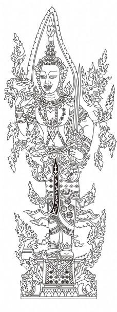 泰国传统神像