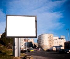 空白广告牌图片