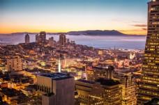 美国旧金山城市图片