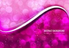 自由矢量抽象粉红色背景