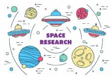 自由空间研究向量
