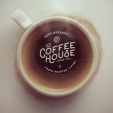 创意咖啡屋海报矢量素材