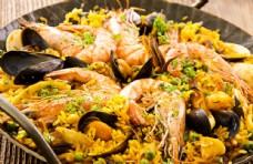 盐焗海鲜虾图片