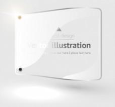 玻璃标签设计模板
