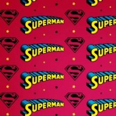 一个自由的超人无缝矢量模式图案背景