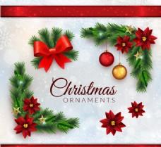 写实风格圣诞饰品