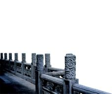中式复古桥柱
