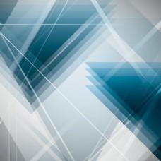 抽象重叠三角形背景