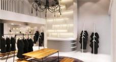 时尚服装店模型