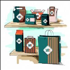 产品包装VI设计图片