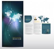 商务折页模板图片
