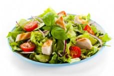 蔬菜沙拉美食图片