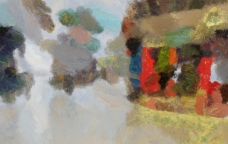 抽象画 装饰画