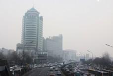 雾霾天气图片