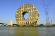 广州圆大厦图片