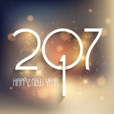 新年快乐的背景虚化背景