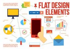 免费平面设计矢量元素和图标