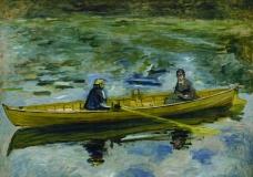 湖面上的小船