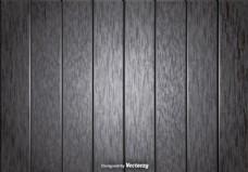 向量的灰色木板背景