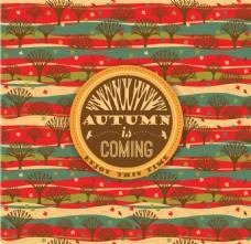 秋天的风景设计图片