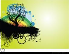 自然的抽象矢量设计Adobe Illustrator EPS