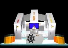 展览 展厅 展台模型