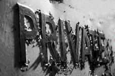墙上的英文字母
