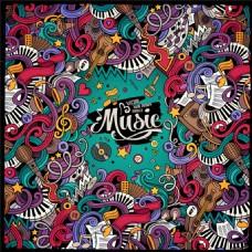 音乐海报背景设计图片