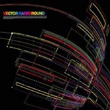 动态彩色流线背景