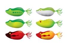 青蛙钓鱼诱饵载体