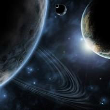 大气星空背景免费下载