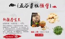 淘宝 海报 鹰嘴豆