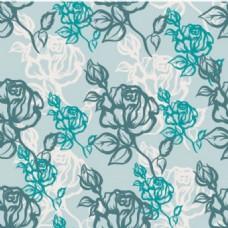 艺术漂亮的开花形状设计元素插图背景