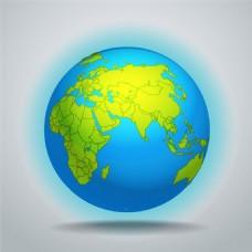 矢量地球背景图片