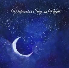 月亮和星星背景