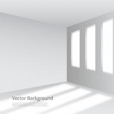 白色的房间