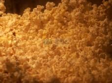 奶油爆米花素材
