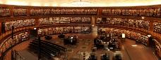 大学里的图书馆
